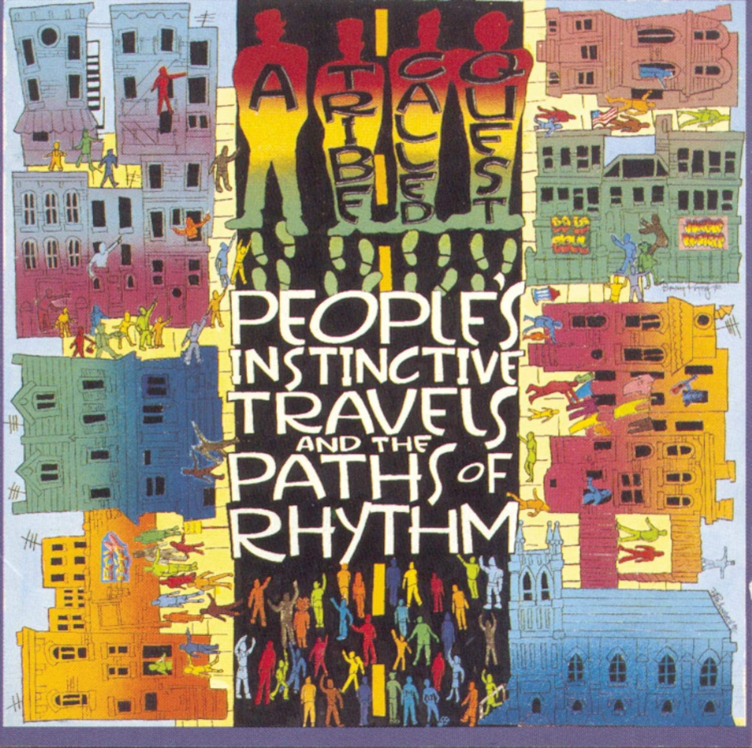 """People's Instinctive Travels and the Paths of Rhythm"", o álbum favorito de 1990 do Hebreu"