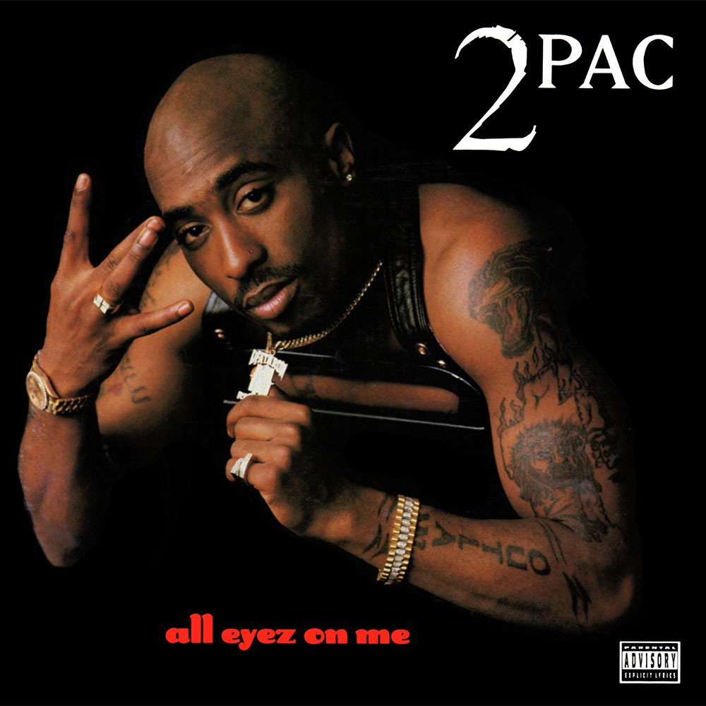 """All Eyez On Me"", o álbum favorito de 1996 do Hebreu"