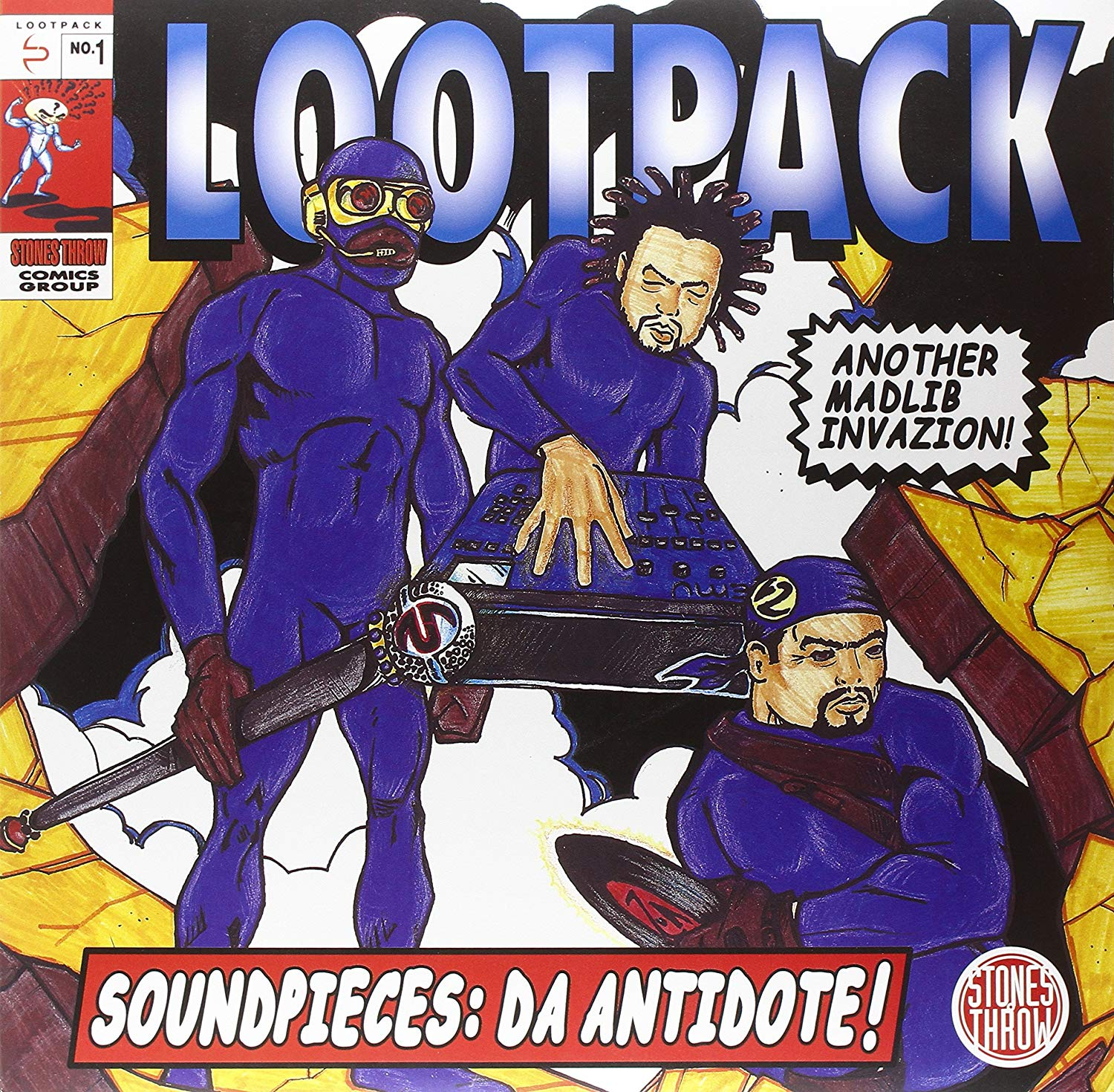 Lootpack - Soundpieces Da Antidote
