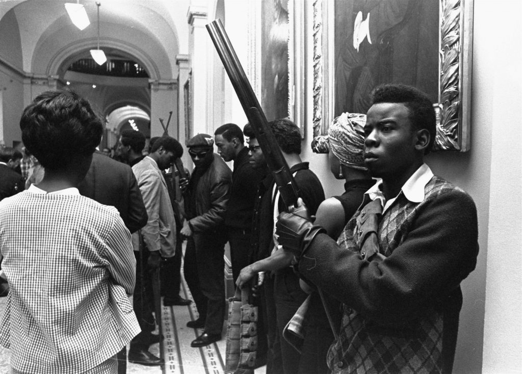 Black Panther Party, no Capitólio, em 1967