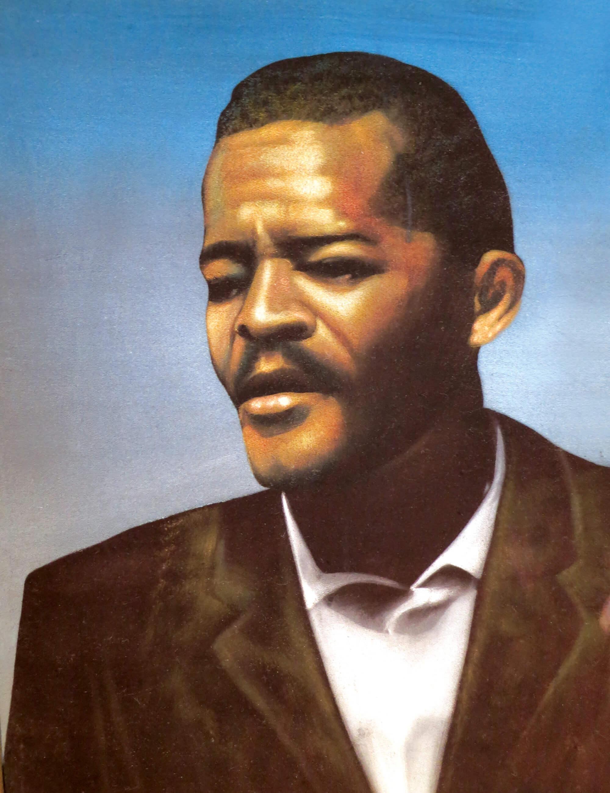Retrato de Clarence 13x na Escola de Allah, Harlem, bairro onde foi fundada a Nação dos Cinco por Cento