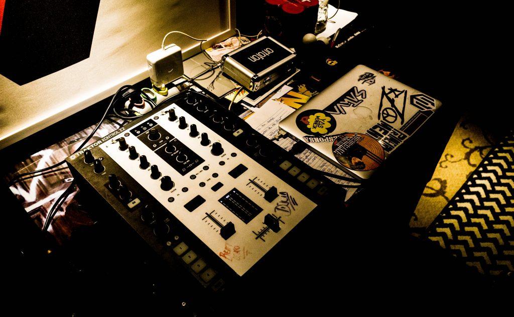 Estúdio do DJ Cia | Foto: Marcola