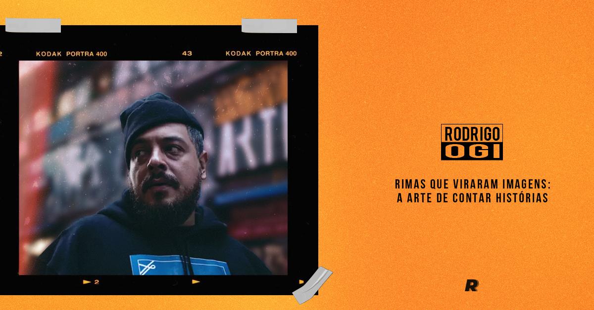 Rimas que viram imagens: a arte de contar histórias do Rodrigo Ogi