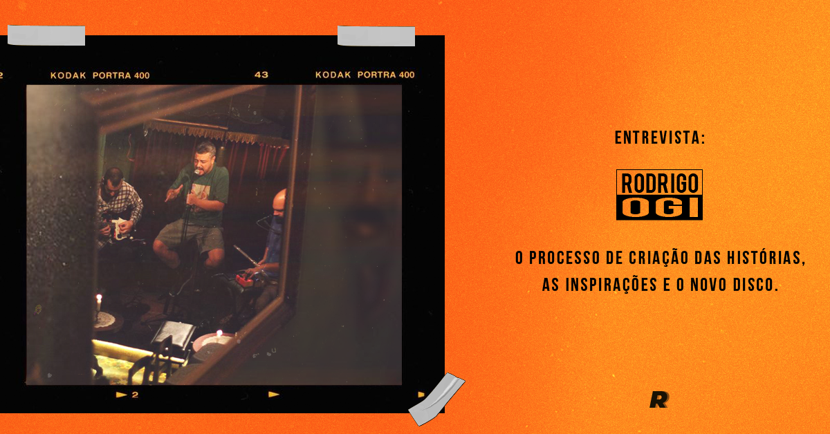 Entrevista com Ogi: O processo de criação das histórias, as inspirações e o novo disco